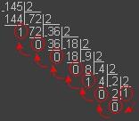 Pascal Перевод десятичного числа в двоичное