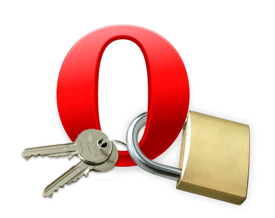 Опера - Показать пароли