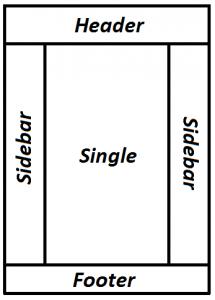 Общая структура сайта