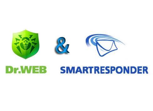 Логотипы Dr Web и SmartResponder