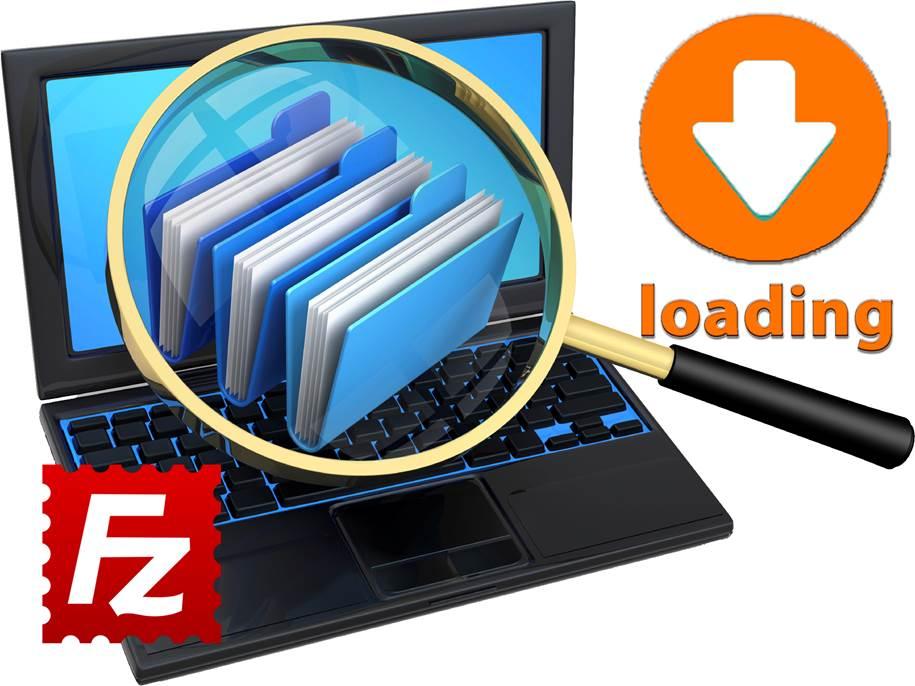 ФайлеЗилла - загрузка файлов на свой сайт, сервер или хостинг с помощью компьютера