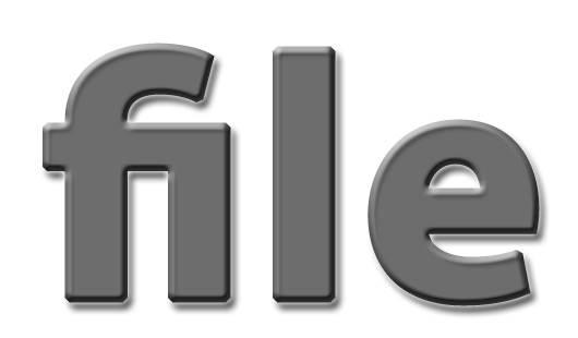 Надпись file