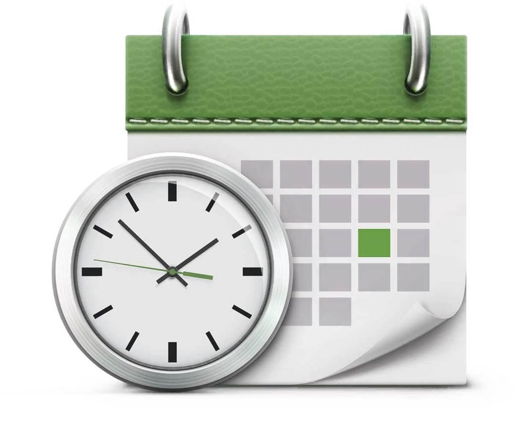 Настройка даты и времени на ОС Windows