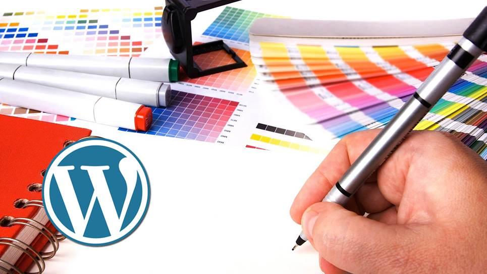 WordPress - оформление сайта, цвета и настройки