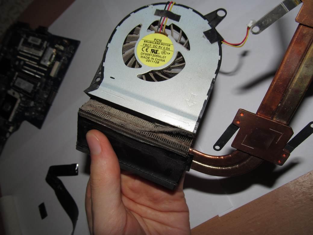 Как почистить радиатор от пыли на ноутбуке